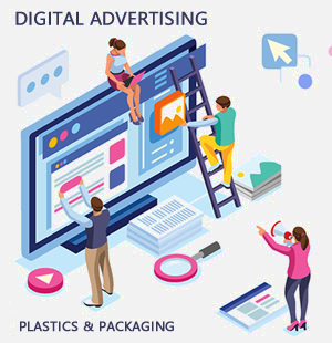 Digital advertising for the plastics industry
